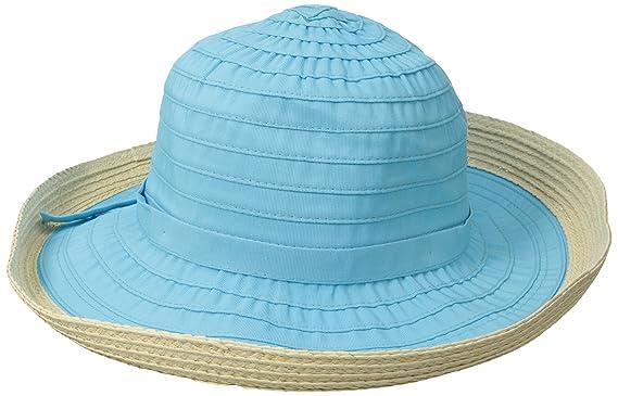 fbec9c238a1 San Diego Hat Company Women s Ribbon Kettle Brim Hat