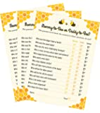 Mommy-to-bee or Daddy-to-bee Baby Shower Game - 24 count