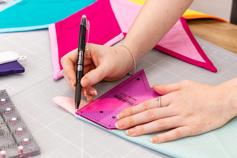 Purple Threaders TH-1594 Mitra Strumento per Quilting e Cucito Progetti One Size