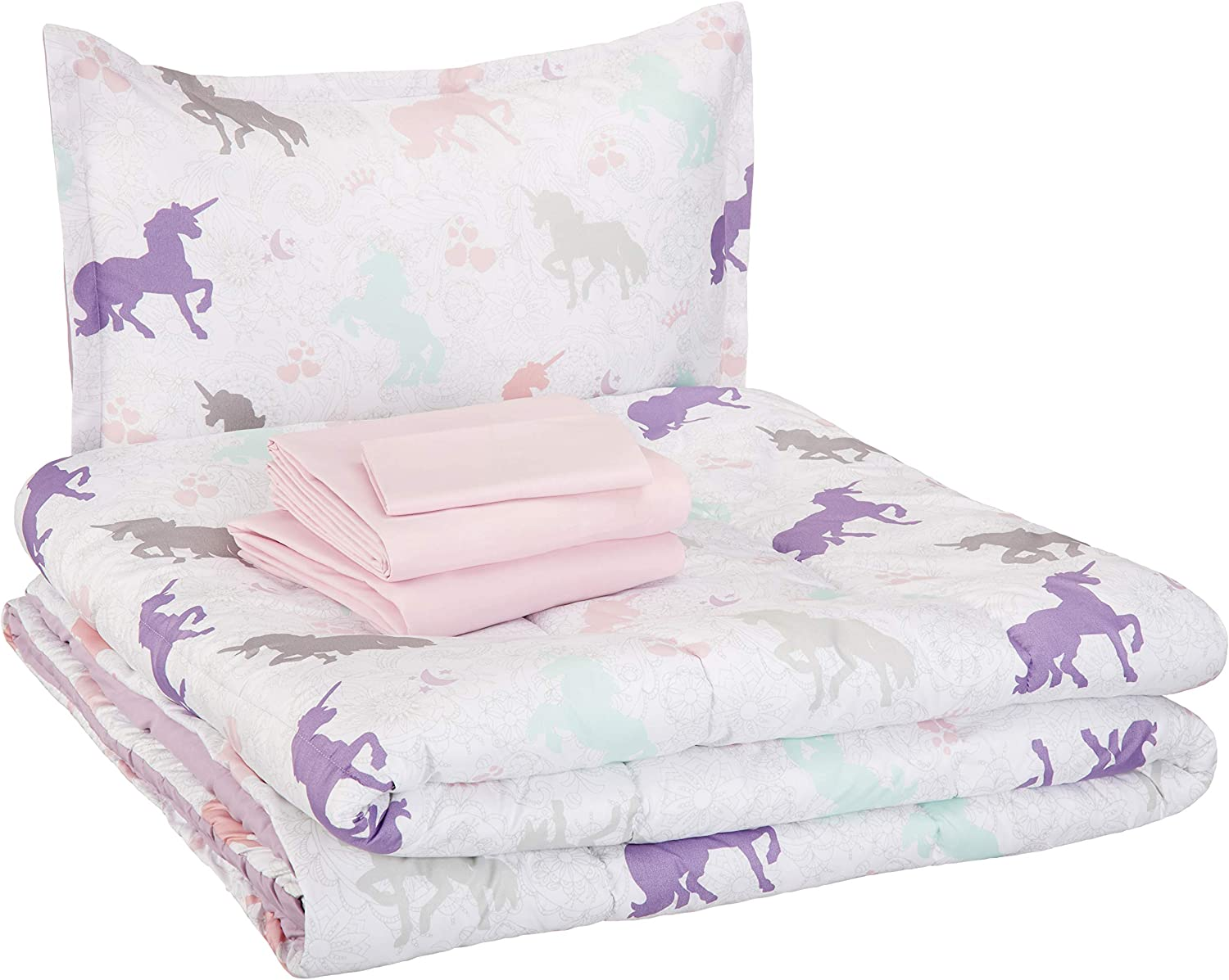 Amazon Basics Kid's Bed Set