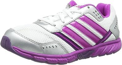 adidas Performance A-Faito Lt Lace K / D65310, Zapatillas Niñas, Running White FTW/Vivid Pink S/Tribe Purple S 13, 31 EU: Amazon.es: Zapatos y complementos