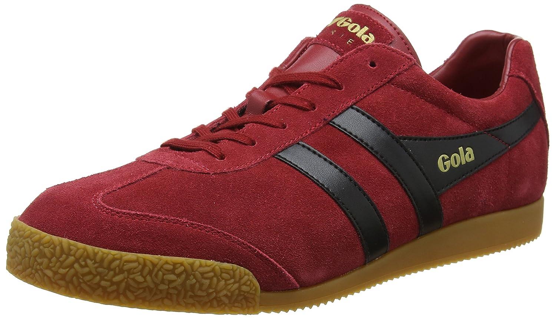Gola Men's Harrier Fashion Sneaker B079FZ75YR 8 D(M) US|Deep Red/Black