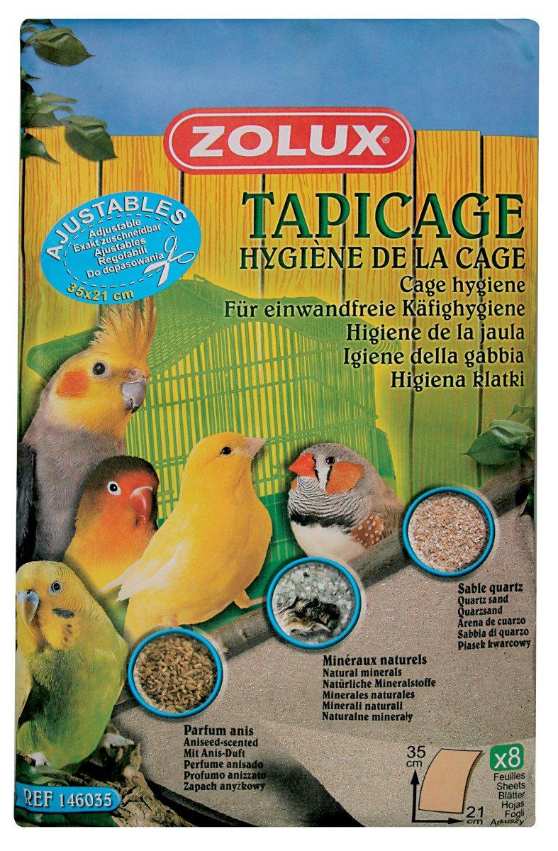 Zolux Tapicage Hygiène de la Cage pour Oiseau Taille S 3336021460354