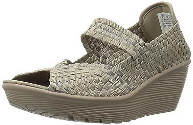 Cali Skechers Women's Weave Platform Sandal Parallel Midsummer's 54Rj3LA