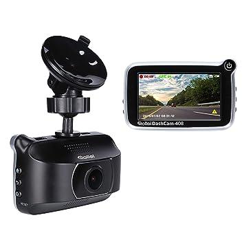 Rollei dashcam de 408 – Cámara GPS Auto de Alta resolución con Full HD (1080P
