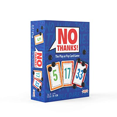 AMIGO Games 18414 No Thanks! Card Game: Toys & Games
