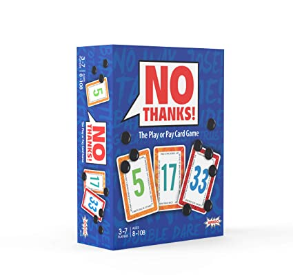 8b9b38cdb Amazon.com  AMIGO No Thanks! Card Game  Toys   Games