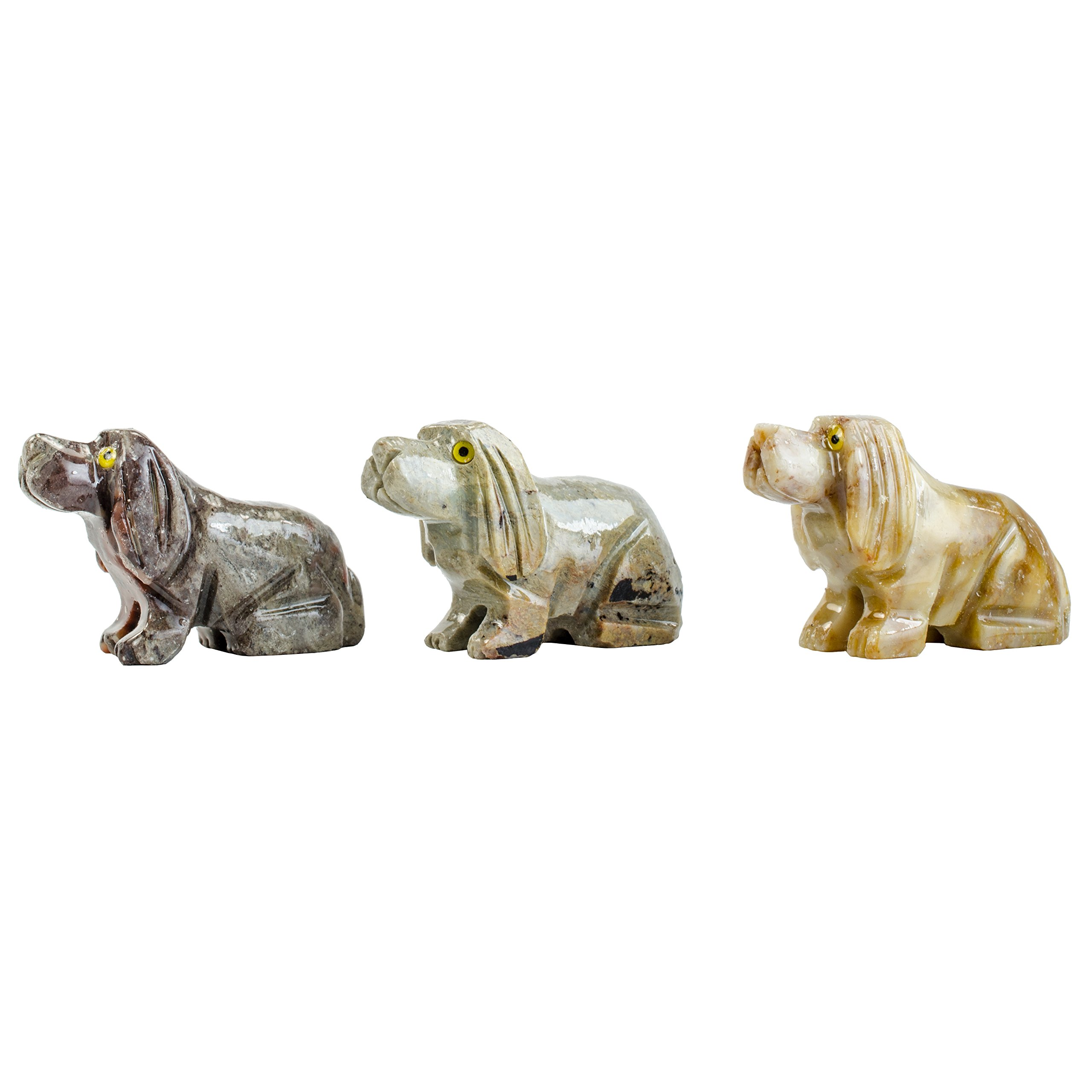 Digging Dolls : 30 pcs Artisan Hound Dog Collectable Animal Figurine - Party Favors, Stocking Stuffers, Gifts, Collecting and More!