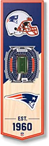 YouTheFan NFL 3D Stadium Banner, 6 x 19 Inches