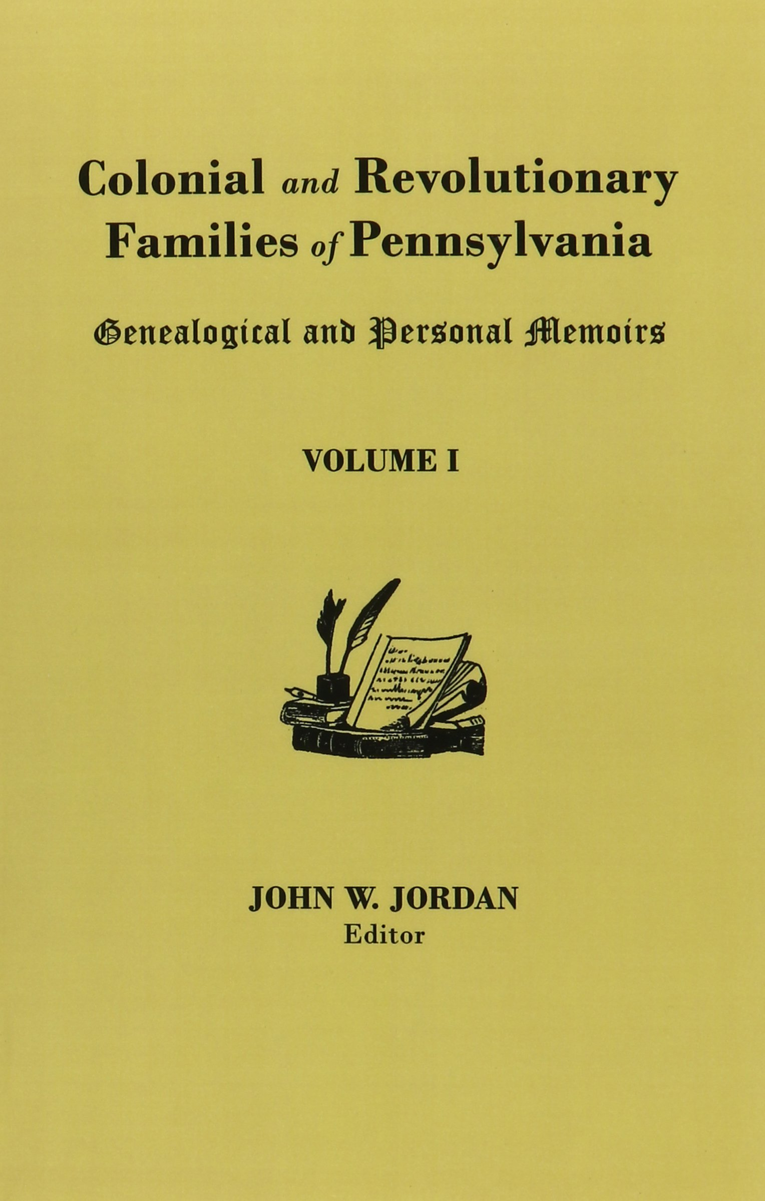 Colonial And Revolutionary Families Of Pennsylvania: Amazon.es: John W. Jordan: Libros en idiomas extranjeros