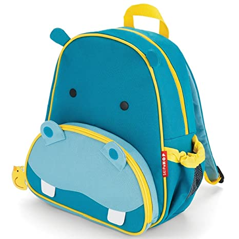 Skip Hop Zoo Pack - Mochila, diseño hippo, color azul