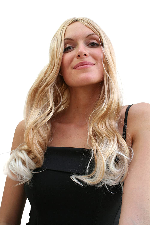 perruque Blond & éternellement Long Pointes Blond Clair Carnaval VK Event Fashion PW0237-27TB80(A239)