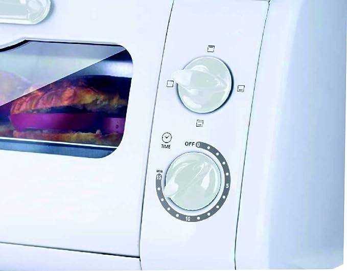 Bastilipo Sicilia Mini Horno Tostador, 600 W, 8 litros, Otro ...
