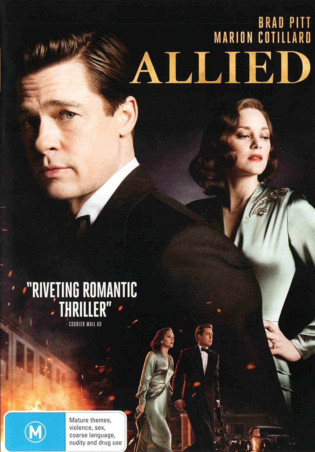 Amazon Com Allied Brad Pitt Directed By Robert Zemeckis Non