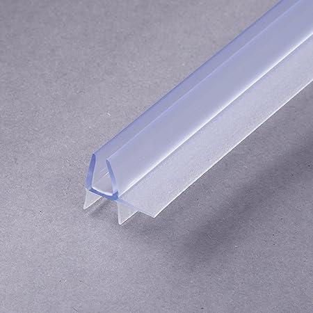 Junta de repuesto (100cm) con refuerzo grueso del borde para cristal con un grosor de 4-5mm, para cabina de ducha, con protección contra chorros: Amazon.es: Bricolaje y herramientas