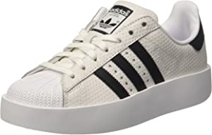 1984134a40 Adidas Superstar Originale Bold Bianco/Rosa BY9076. Piattaforma ...