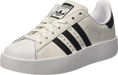 adidas Superstar Bold, Sneakers Basses Femme, Blanc (weiß ...