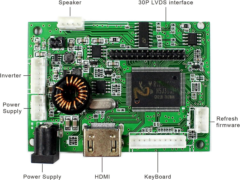 Scheda di controllo LCD di ingresso audio HDMI per schermo LCD da 15.6LP156WH1 LTN156AT01 N156B3 B156XW01 1366X768 30Pins
