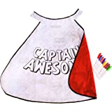 Great Pretenders Color-a-Cape Super Hero/Captain Awesome