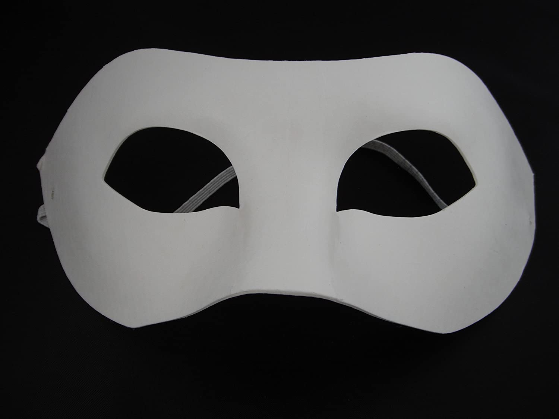 ASCRAFTS HONGBE 15 Half Face Mask, Paint Mask Decorate Plain Masks White Mask