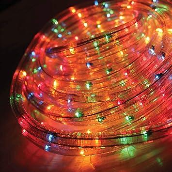 Chaser Christmas Lights.Benross The Christmas Lights 25m Chaser Rope Light Multi