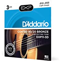 D'Addario Acoustic Guitar Strings (EXP11-3D)