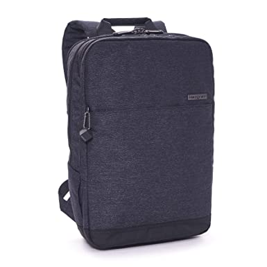 1f33eb4e49c Amazon.com: Hedgren Rule Square Laptop Backpack (Asphalt): Clothing