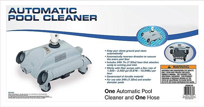 Amazon Intex Auto Pool Cleaner Swimming Pool Suction