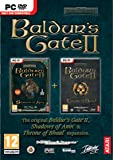 Baldur's Gate 2 II - Shadows Of Amn & Throne of Bhaal Double Pack (PC DVD)
