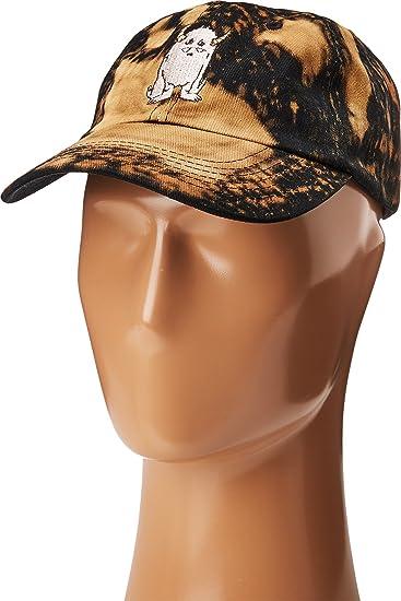 29fc5854ccc Amazon.com  Depressed Monsters Unisex Yerman Bleached Dad Hats Black Bleach  Hat  Clothing
