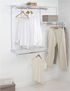 Rubbermaid Configurations Custom Closet Starter Kit, White, 3 6 Foot,  FG3E2402WHT