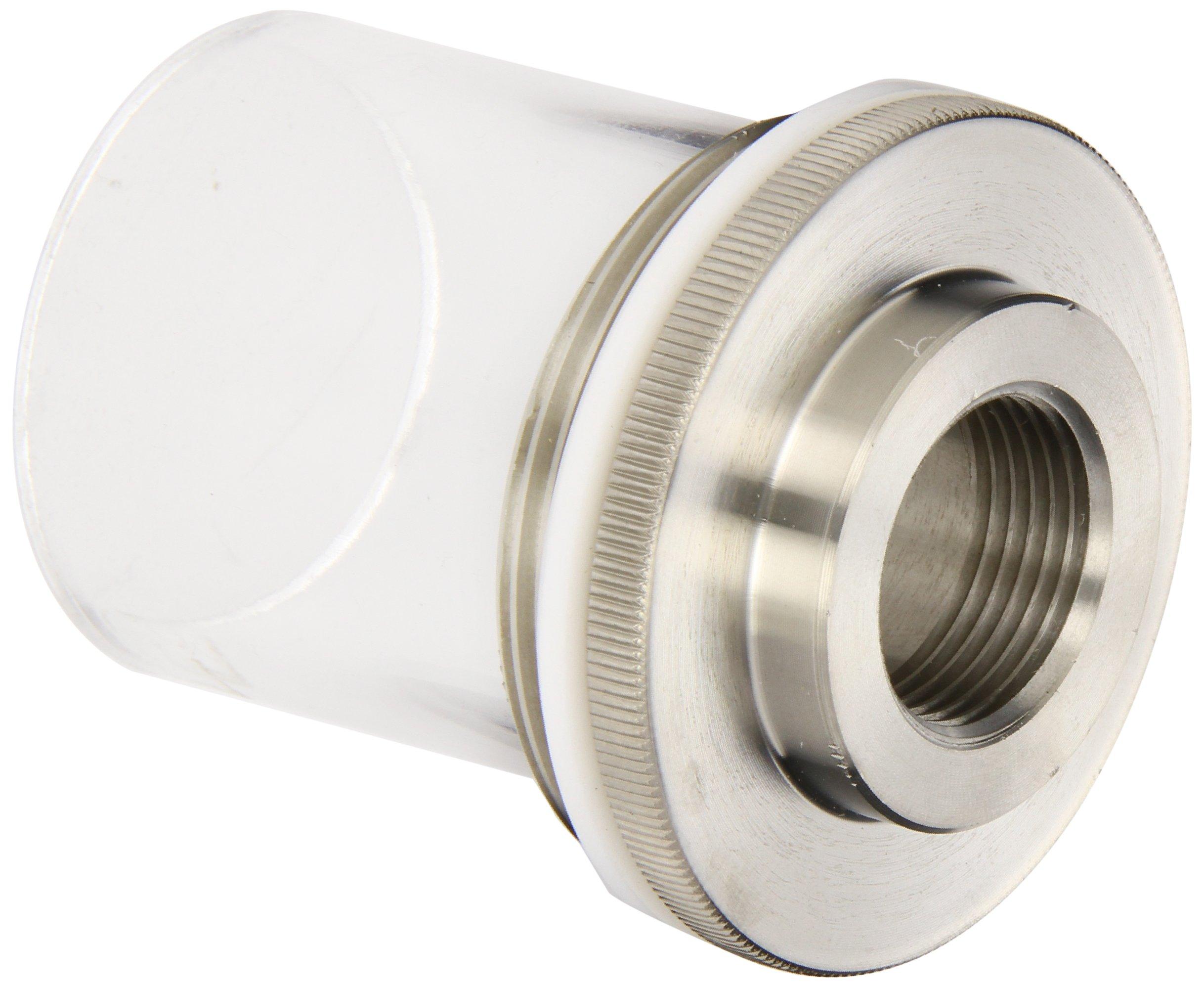 BrandTech 704270 Stainless Steel Thread Adapter, 2'' O.D.