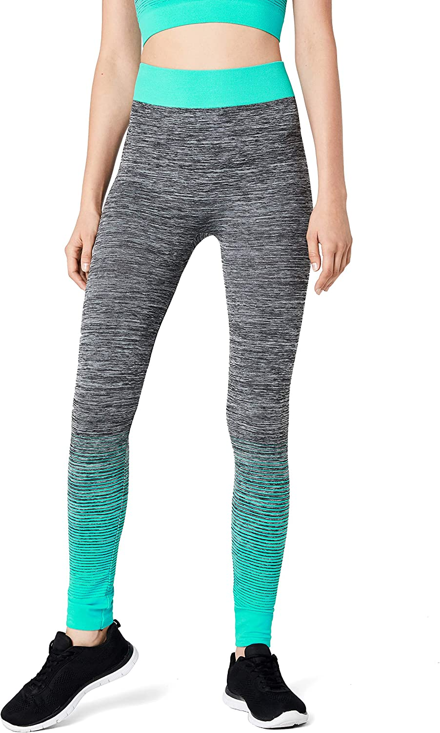 FM London Crop Top and Leggings Conjunto ropa deportiva para Mujer