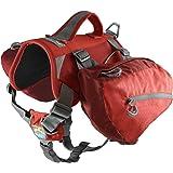 Kurgo Dog Saddlebag Backpack | Back Pack Dog Harness | Hiking Pack for Dogs | Packs for Pets to Wear | Camping & Travel…