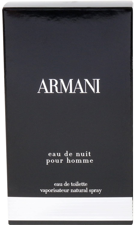 Giorgio Armani Eau de Toilette Spray, Eau de Nuit, 3.4 Ounce