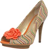 Poetic Licence Women's All Mixed Up Open-Toe Pump