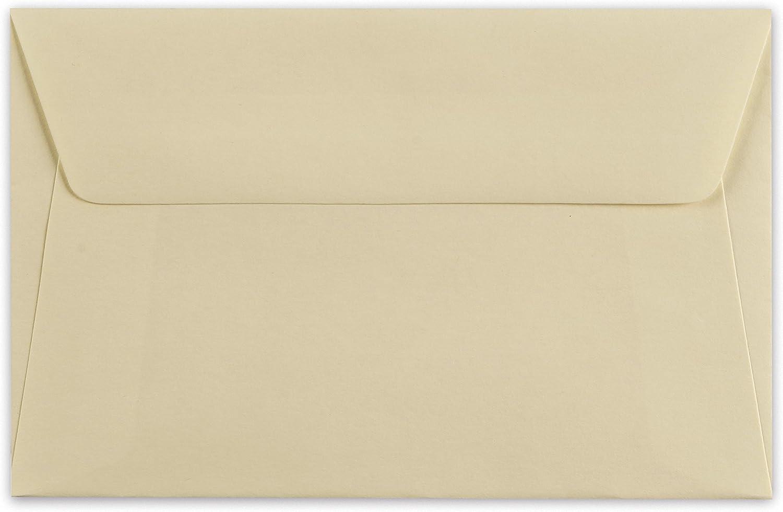 Barbieri Arts graphiques Firenze Box pochettes 6 et 6 cartes Ivoire avec imprim/é monogramme J laque en relief Rouge