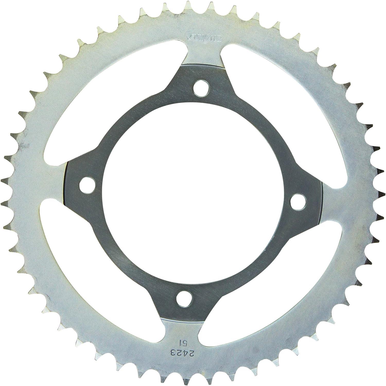 Sunstar 2-242351 51-Teeth 428 Chain Size Rear Steel Sprocket
