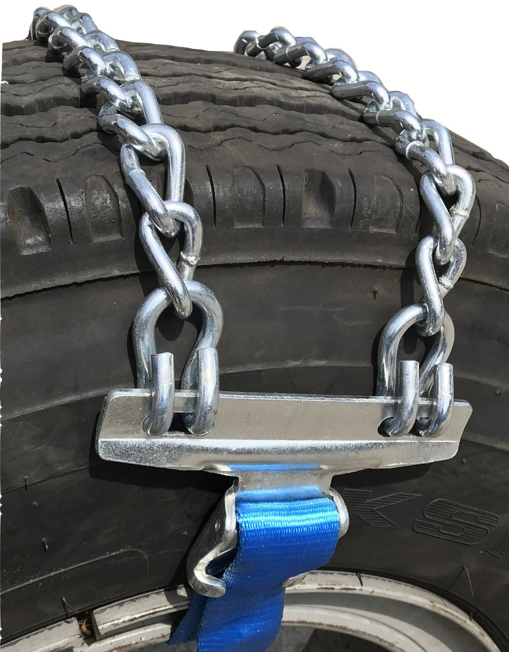 TireChain.com Emergency Strap tire chains for Large Trucks - fits tire sizes larger than 275 mm-, priced per pair by TireChain.com (Image #1)