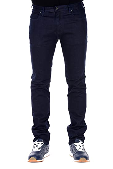 1a7ab6a4 Mens Armani Mens J45 Slim Fit Jeans in Navy - 40L: Armani: Amazon.co.uk:  Clothing