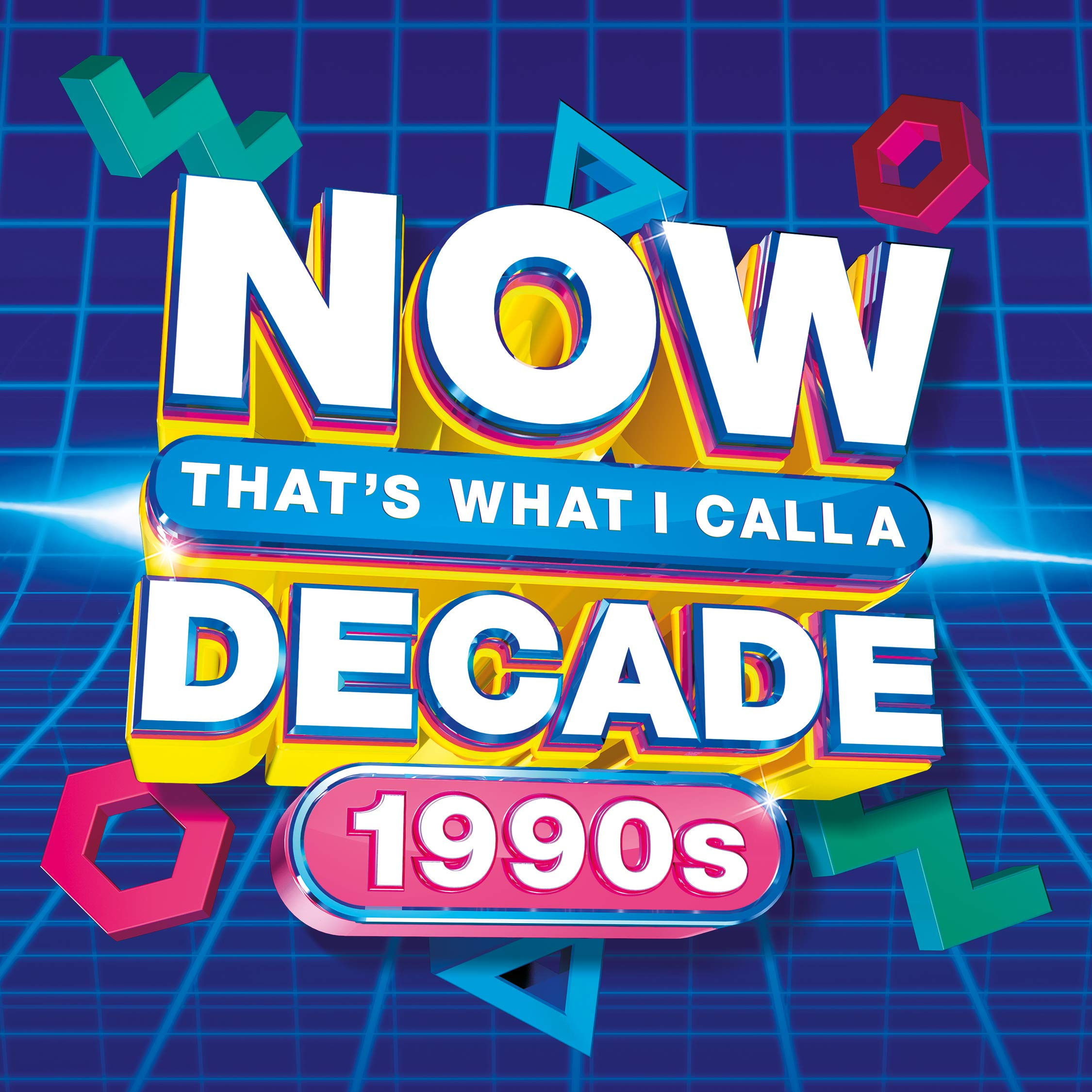 Book Cover: NOW Decade 1990s