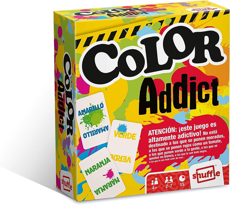 Shuffle Color Addict Cartamundi Juego de Cartas, Multicolor (Caftamundi 108469992): Amazon.es: Juguetes y juegos