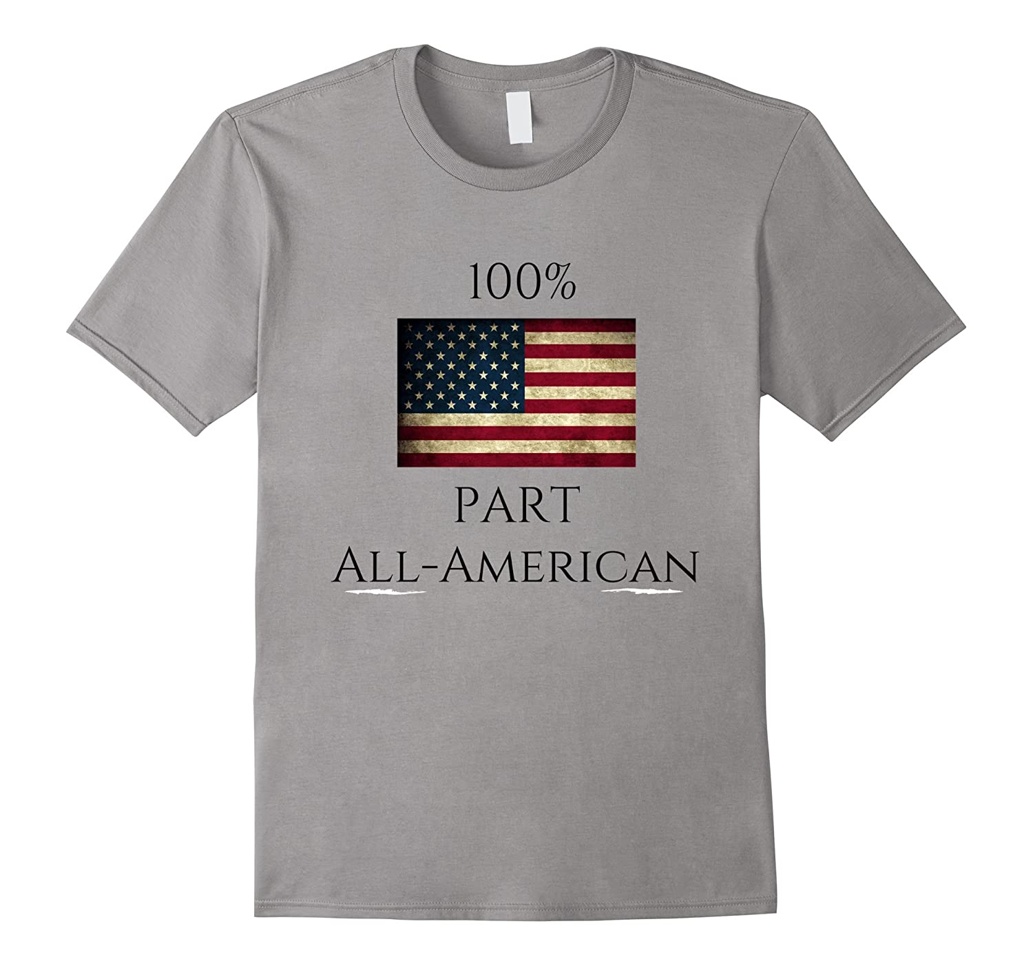 100% Part All American Tee Shirt-BN