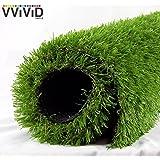 "VViViD Artificial Grass Synthetic Weatherproof Vinyl Turf Mat Roll (1ft x 40"" (3.33 sq/ft))"