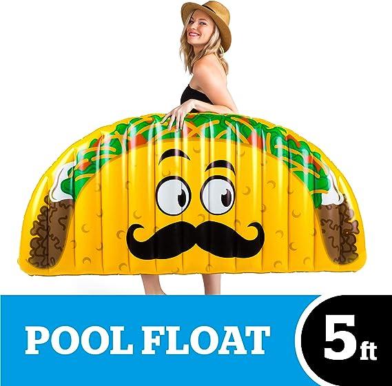 BigMouth Inc – Flotador Hinchable Taco Gigante – Inflable ...