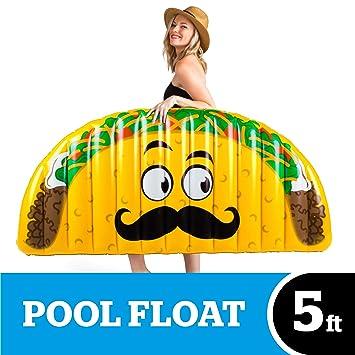 BigMouth Inc - Flotador Hinchable Taco Gigante - Inflable ...