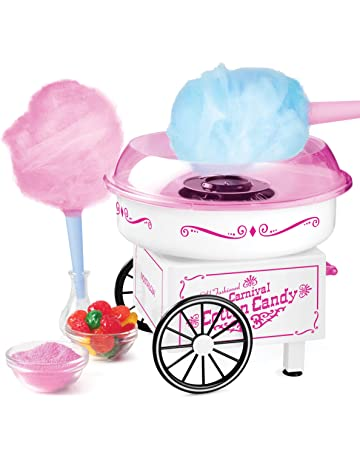 Sugar Free Homemade Sugar Sugar Floss or Hard Candy Cotton Candy Machine VANRA Cotton Candy Maker Pink