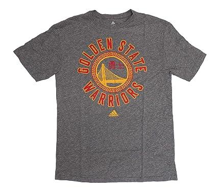 f3f5000ea48 adidas Golden State Warriors Men's Grey Tri-Blend ChineseNew Year T-Shirt  Small