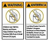 "Tape Logic Instructions Label, Legend""Warning"
