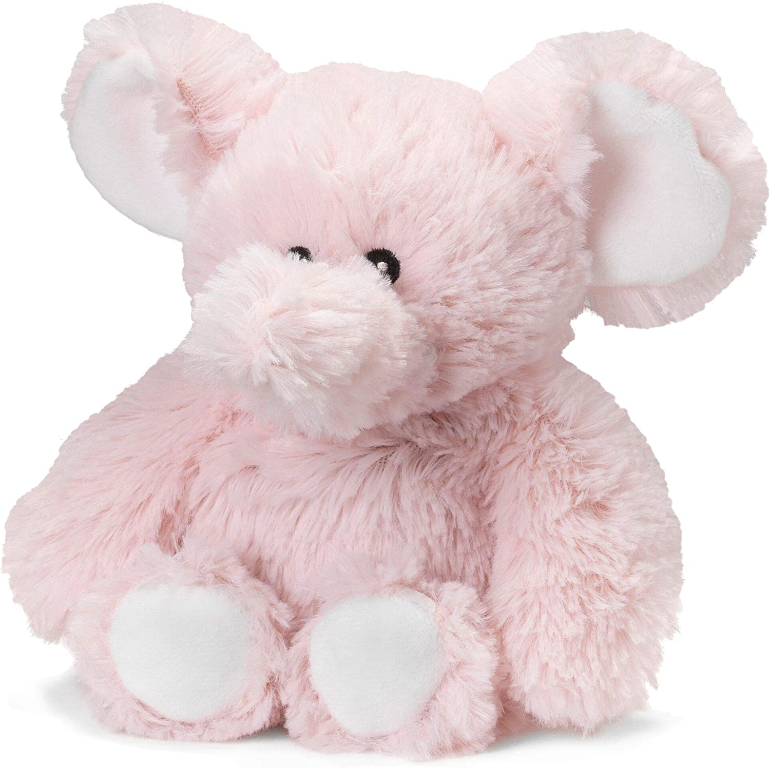 "Intelex Warmies Microwavable French Lavender Scented Plush, Jr. Elephant, Pink, 6"" x 2"" x 4"""